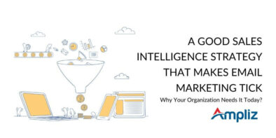 Sales Intelligence Strategy for better email marketing