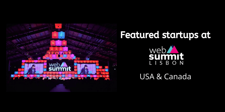 Featured startups at Web Summit 2019 USA, Canada