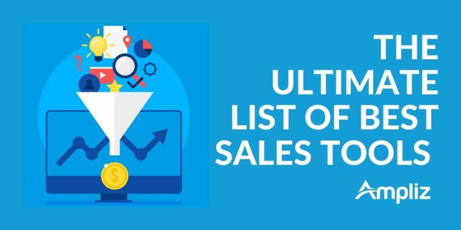 Best Sales Tools: The Ultimate List (2019)