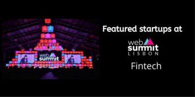 Fintech startups at web summit 2019