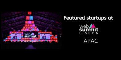 Startups from APAC at Web Summit 2019