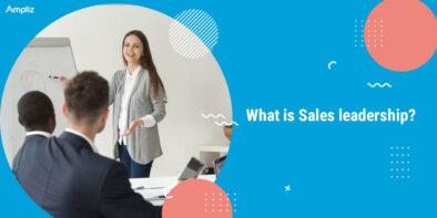 What is sales leadership?