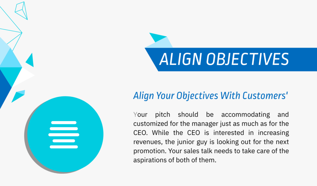 Align your objectives