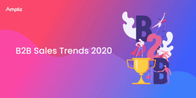 B2B sales trends in 2020
