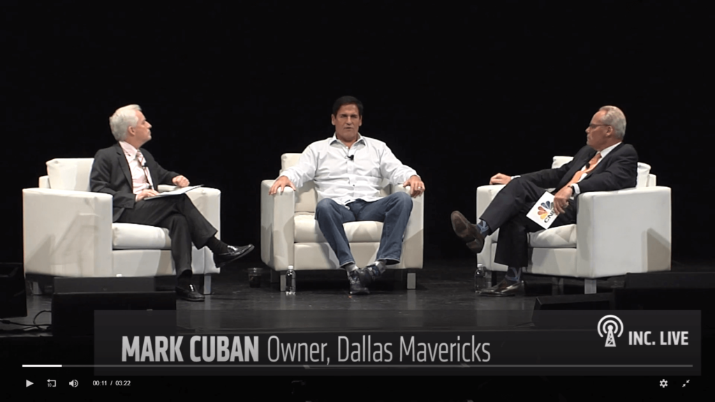 Sales pitch example - Mark Cuban
