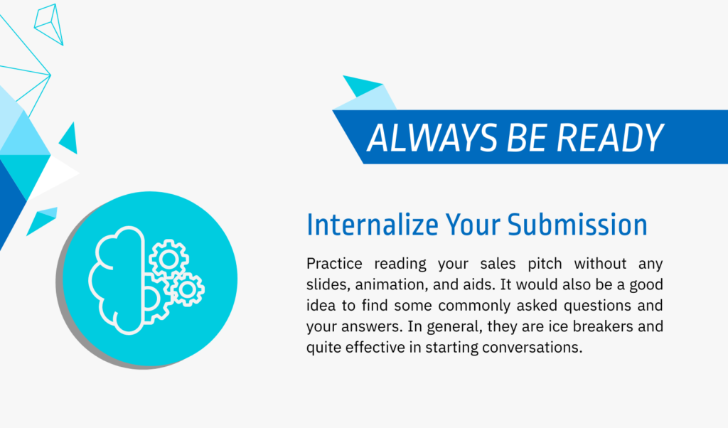 practice your pitch multiple times