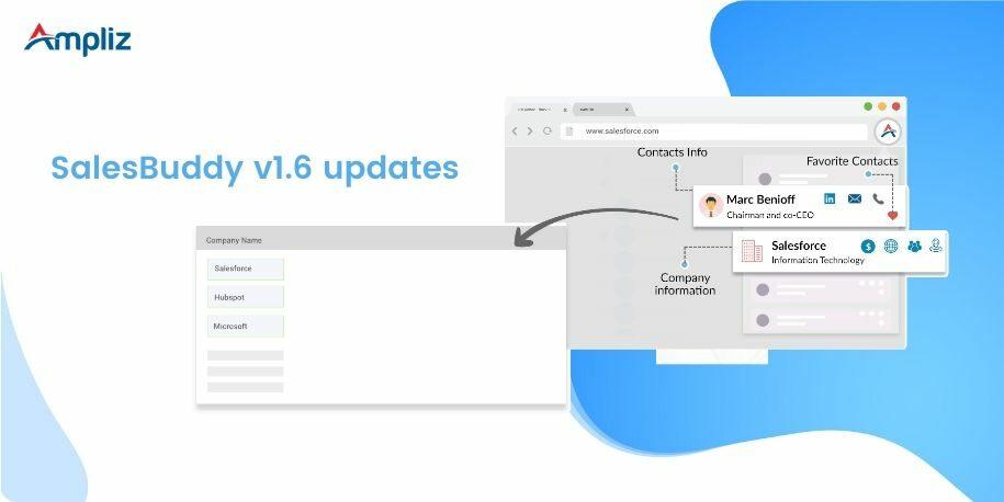 salesbuddy v1.6 product updates