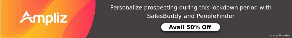 sales intelligence tool at 50% off