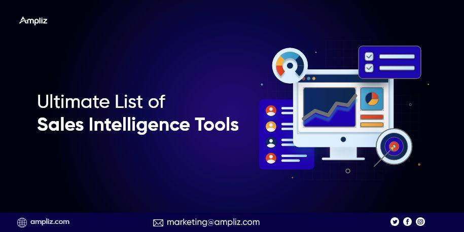 Ultimate List of Sales Intelligence Tools