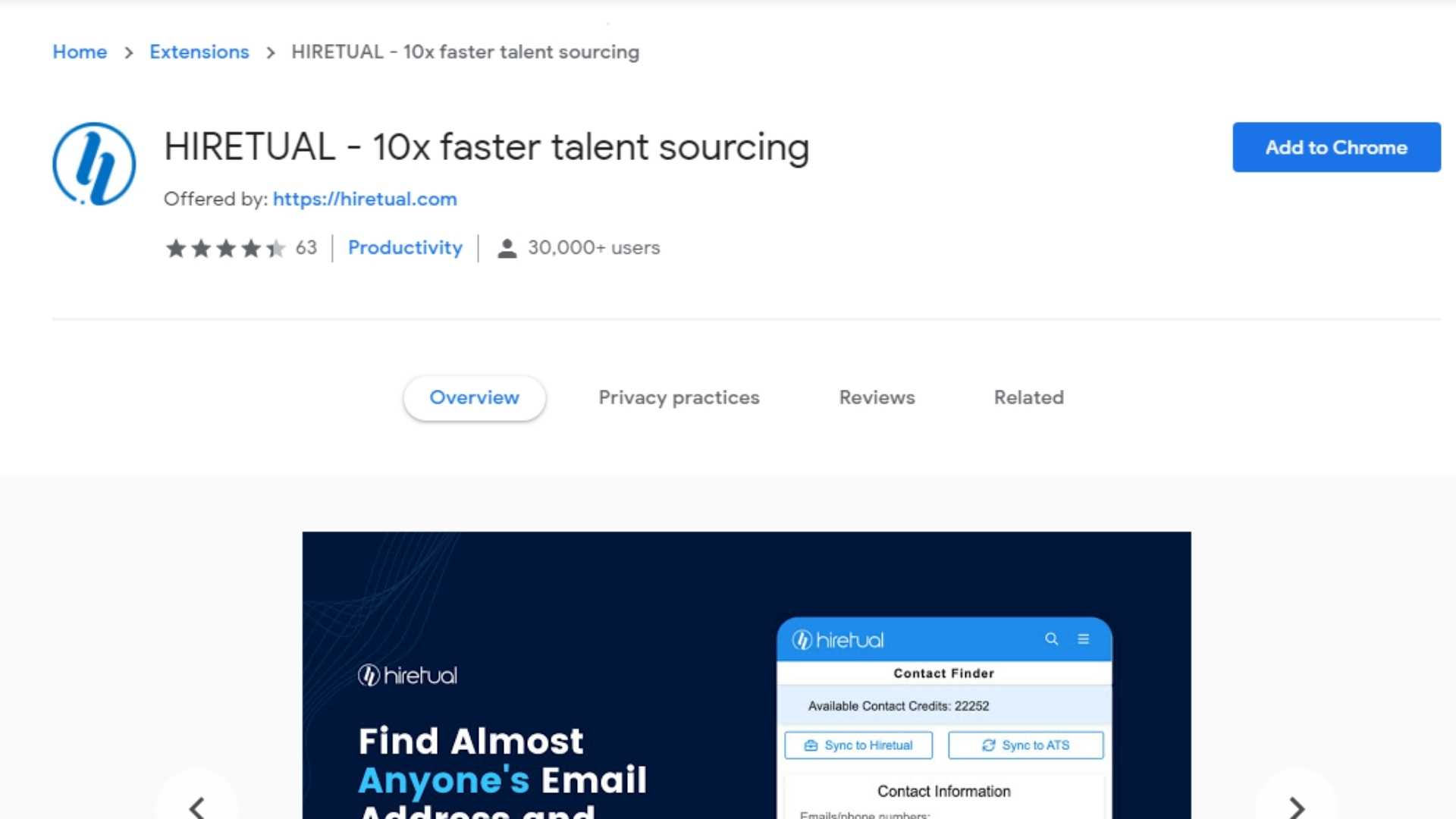 Best Email Finder Tool Hiretual