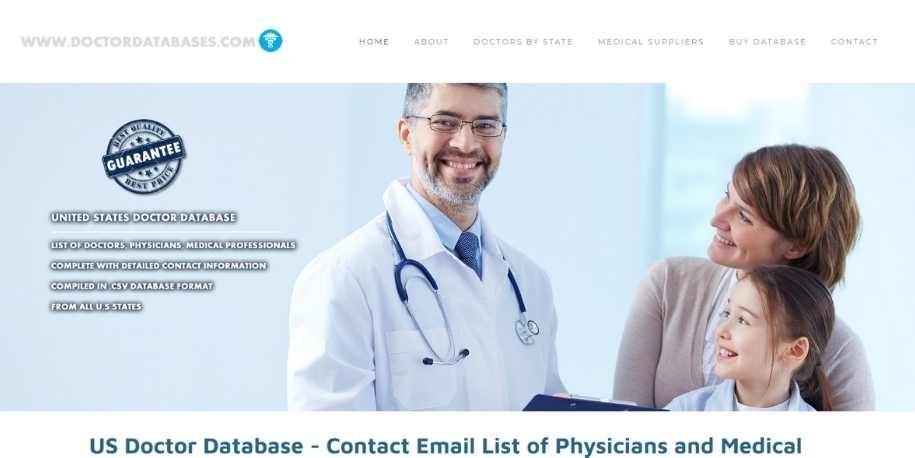 Doctor databases