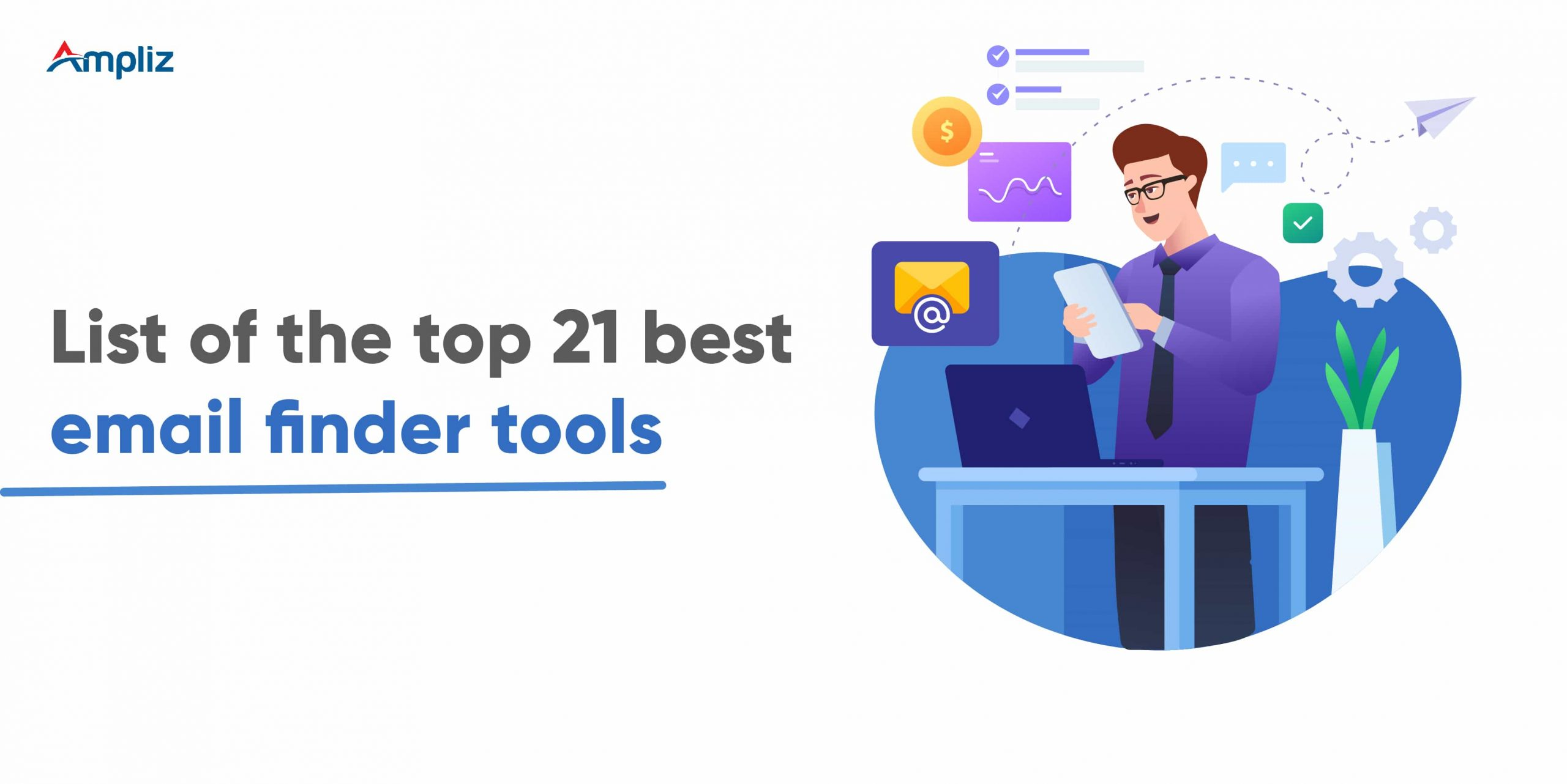 List of the top 21 best email finder tools