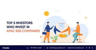 Top 5 APAC B2B Investors