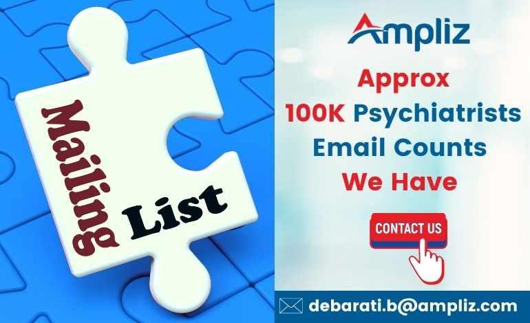 USA Psychiatrists Email Database