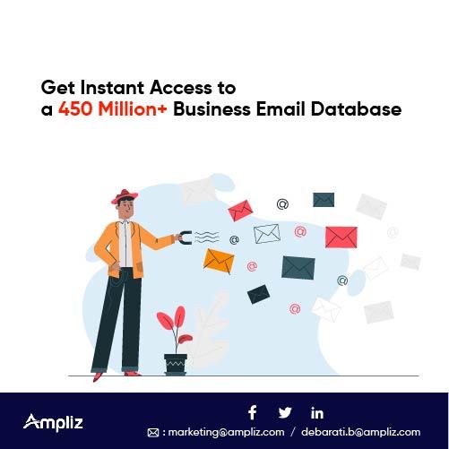 450 Million+ Business Email Database